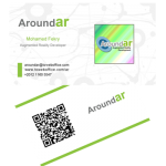 AroundAR - Augmented Reality Iinteractive Business Card